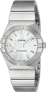 Women's 12310276005001 Constellation Analog Display Swiss Quartz Silver Watch