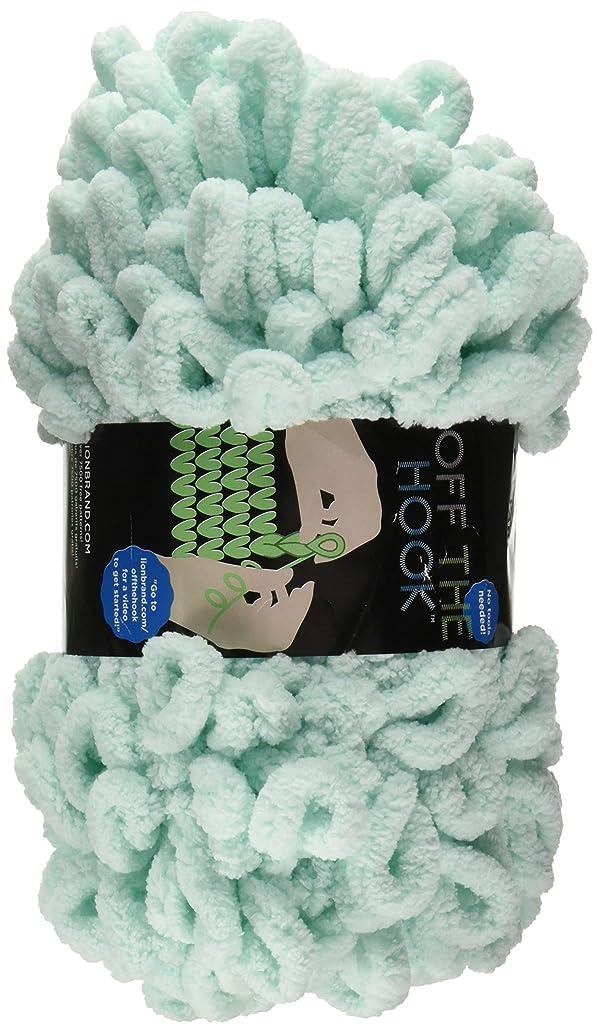 Lion Brand Yarn 516-102 Off The Off The Hook Yarn, Sea Foam
