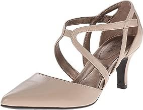 beige ballroom dance shoes