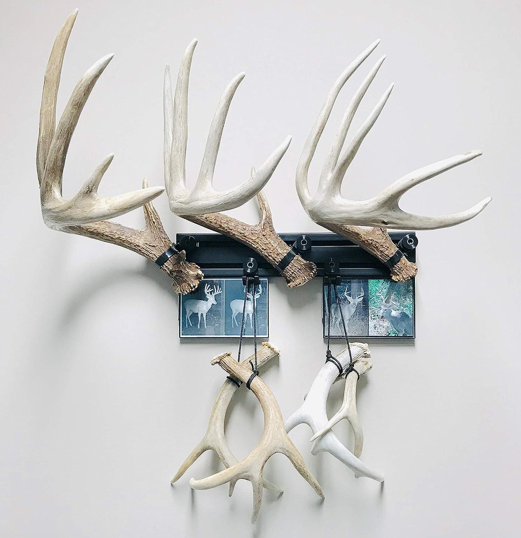 """18/"""" Kit #6 Shed Antler Mounting Kit RACK TRACK"""