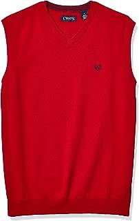 Chaps Men's Cotton V-Neck Sweater Vest