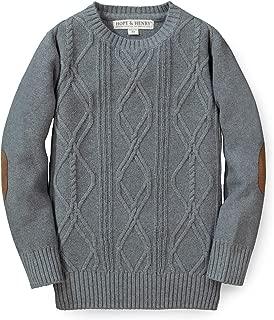 Boys' Long Sleeve Crew Neck Pullover Sweater