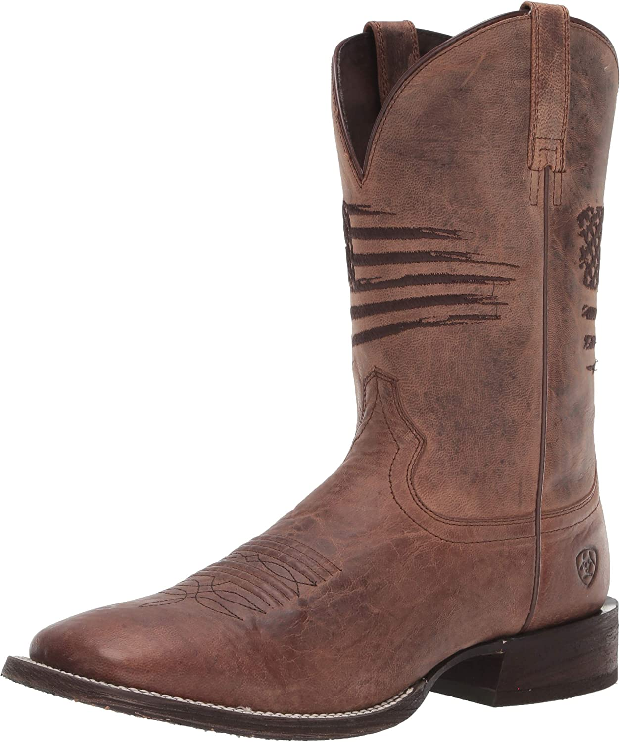 Ariat Circuit Patriot Western San Francisco Mall - Men's Max 50% OFF Boots Leather