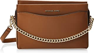 MICHAEL KORS Womens Large Conv Chain Xbody Bag, Luggage - 32F9GJ6C3L
