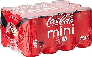 Coca-Cola Zero Sugar Mini Cans, 180ml (Pack of 24)