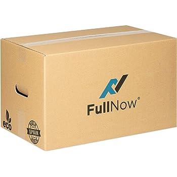 Cajas de cartón. Pack de 10 unidades. 60x40x26 cms: Amazon.es: Oficina y papelería