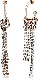 Steve Madden Women's Open Hoop Chandelier Earrings