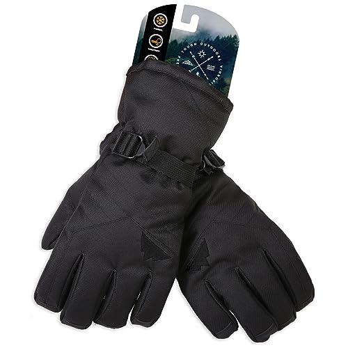 b159f0395 Winter Snow & Ski Touch Screen Gloves - Designed for Skiing, Snowboarding,  Shredding,