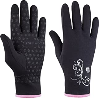 TrailHeads Women's Running Gloves | Touchscreen Gloves | Power Stretch Winter Running Accessories