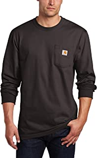 Men's Workwear Jersey Pocket Long-Sleeve Shirt K126 (Regular and Big & Tall Sizes)