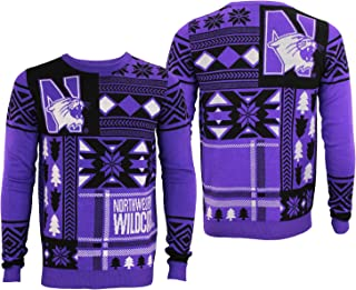 northwestern university ugly christmas sweater