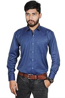 MODS The Navi Blue Self Print Shirt