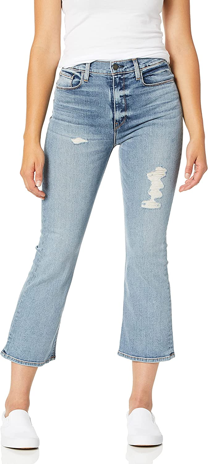 HUDSON Women's Holly High Rise, Cropped, Flare Jean