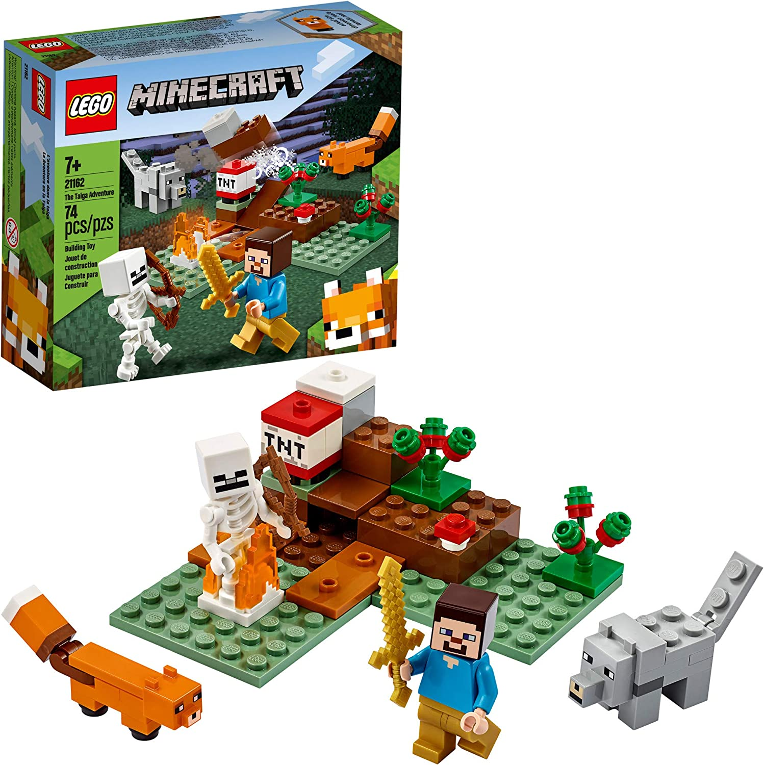 21162 LEGO The Taiga Adventure Minecraft for sale online