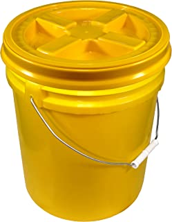 Best yellow bucket with lid Reviews