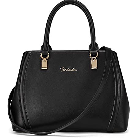 BOSTANTEN Damen Leder Handtasche Schultertasche Umhängetasche Elegante Henkeltasche Tote Bag