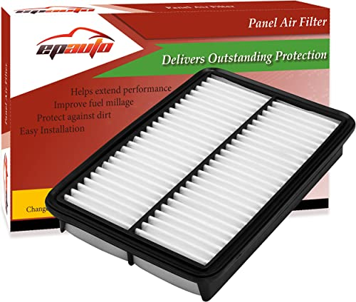 2021 EPAuto GPA0A (PE07-13-3A0A) Replacement for Mazda lowest Rigid Panel Engine Air Filter for SkyActiv Mazda 3 (2013-2019), Mazda 6 (2014-2019), CX-5 discount 2.5L (2013-2019) outlet online sale
