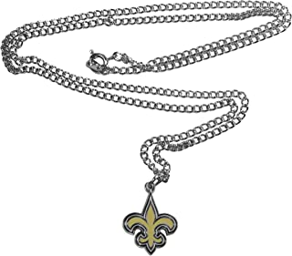 NFL New Orleans Saints Chain Necklace with Small Pendant, 20