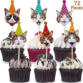 Best cat cupcake decorations Reviews