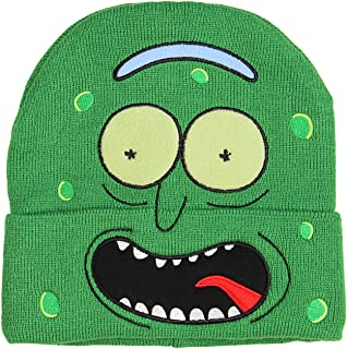 Bioworld Rick and Morty I'm Pickle Rick Hat Beanie Green