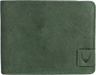 Hidesign Green Leather For Men - Flap Wallets