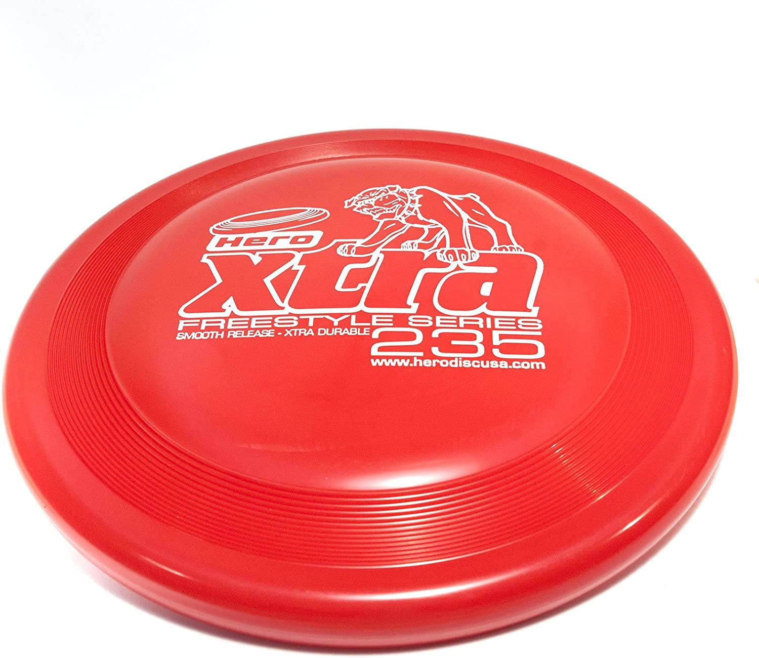 Hero Xtra 235 Max 60% OFF Freestyle price Flying Disc - Dog Sport Red