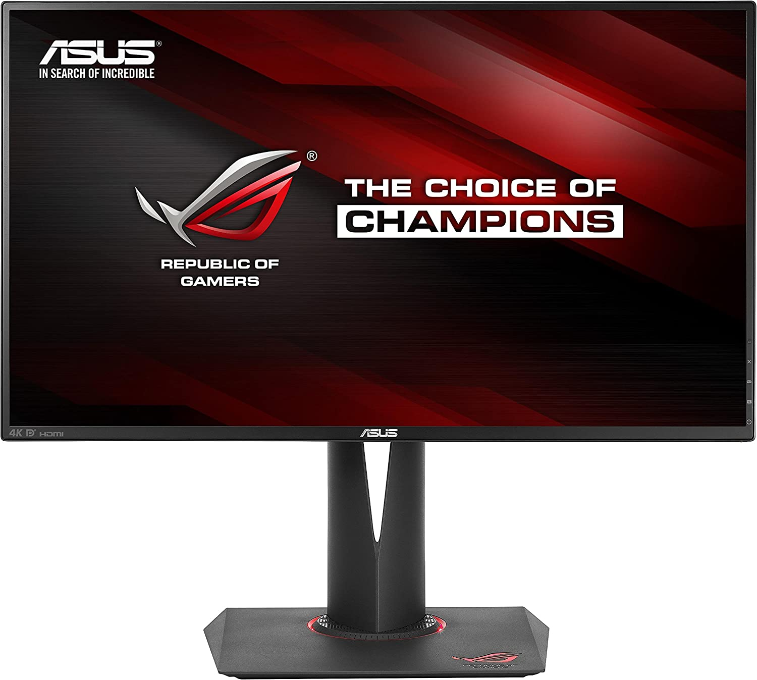 Asus Pg27aq 27 Inch G Sync Ips 4k 3840 X 2160 Computers Accessories