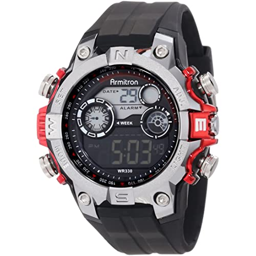 Armitron Sport Mens 40/8251RED Digital Watch