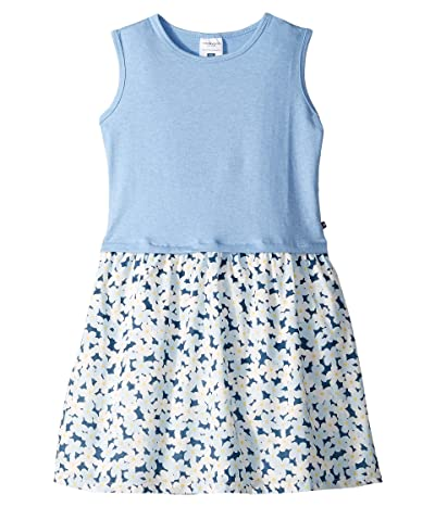 Toobydoo Tank Dress (Toddler/Little Kids/Big Kids) (Flower Print) Girl