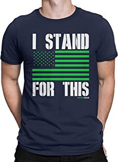 Rival Gear Seattle Football Fan T-Shirt, I Stand For This by