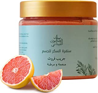 Bayt Al Saboun Al Loubnani Grapefruit Body Sugar Scrub, 500 Gm