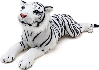 VIAHART Sada The White Tiger | 2 Foot Long Stuffed Animal Plush | by Tiger Tale Toys
