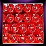 バレンタインデーのキーボード