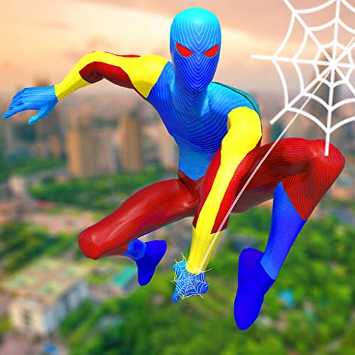 Amazing Frog Rope Super Web Hero : spider power hero 2020