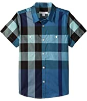 Burberry Kids - Mini Camber Giant Exploded Check Twill (Little Kids/Big Kids)