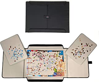 Portable Jigsaw Puzzle Board Mat by Mary Maxim - Puzzle Tables for Adults - Puzzle Organizer and Storage - Puzzle Table Fe...
