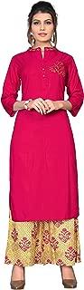 Vbuyz Women's Rayon Straight Kurti(VF-KU-309)