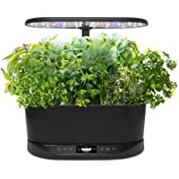 AeroGarden Bounty Basic-Black Indoor Garden (Bounty Basic 2019)