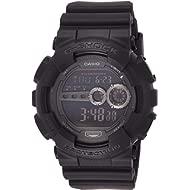 Men's GD100-1BCR G-Shock X-Large Black Multi-Functional Digital Sport Watch