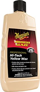 Meguiar's M2616 Mirror Glaze Hi-Tech Yellow Wax, 16 Fluid Ounces, 1 Pack