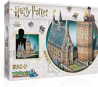 WREBBIT 3D - Harry Potter Hogwarts Great Hall 3D Jigsaw Puzzle - 850Piece