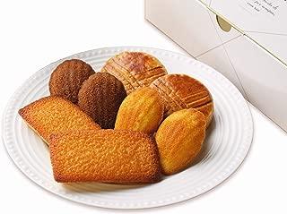 パッコビアンコ ガトーバリエ(フィナンシェ、ガレットブルトンヌ、マドレーヌ、マドレーヌショコラ、4種類の焼き菓子詰め合わせ)