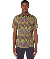 Vince - Multi California Print Short Sleeve