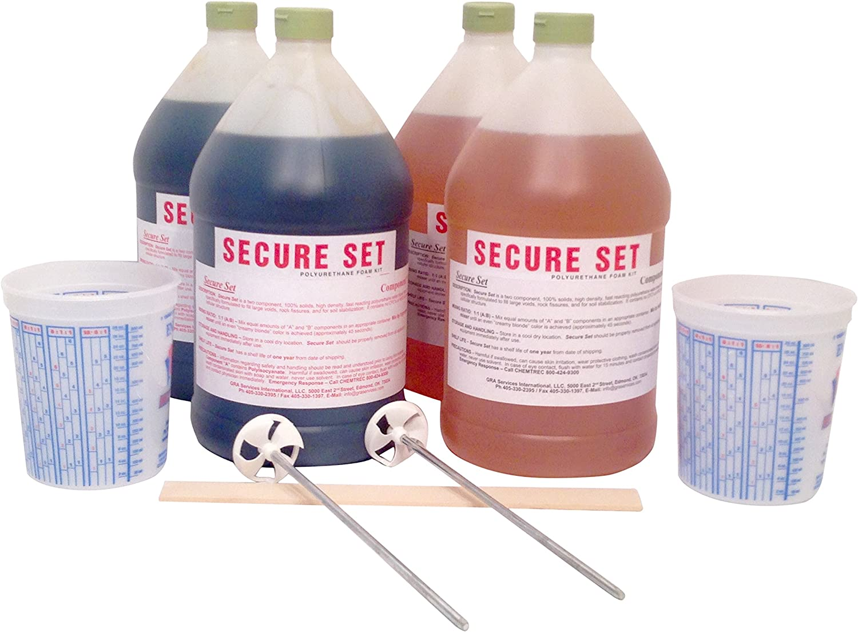 Secure Set - Award 20 Post Super intense SALE Kit Gallons. Se -4 Fast Commercial Grade