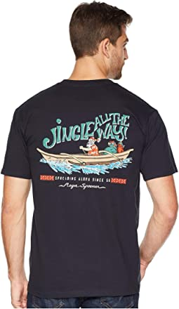 Canoe Santa Short Sleeve T-Shirt