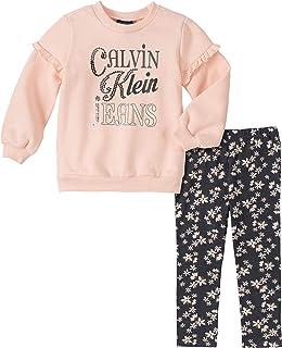 CALVIN KLEIN Baby Girls 2 Pieces Leggings Set