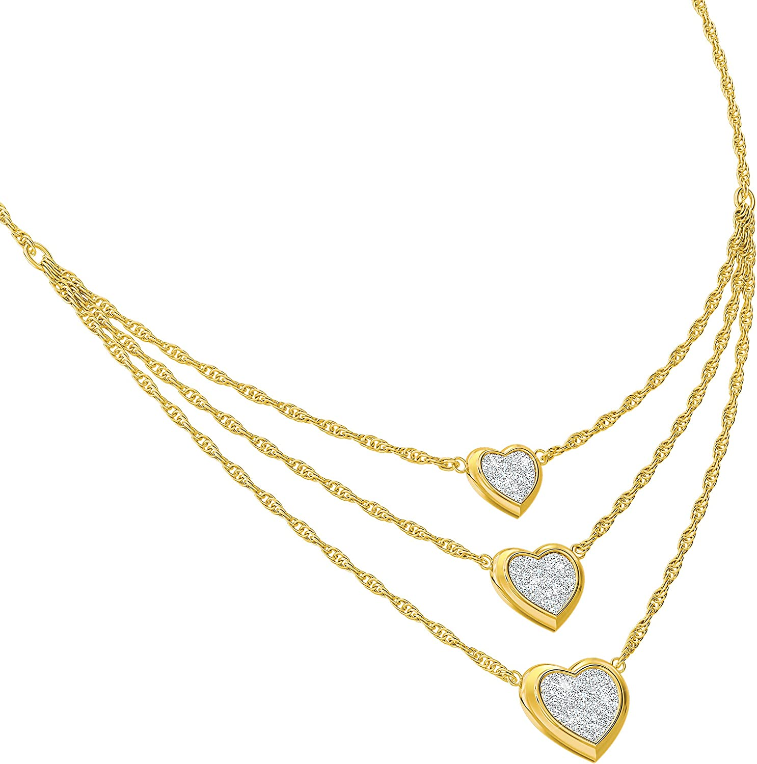"""The Danbury Mint """"Then Now Always"""" Ranking TOP7 Necklace Tampa Mall Diamond"""