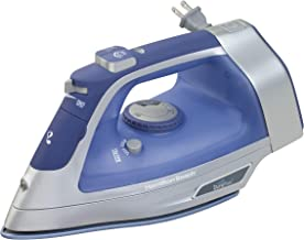 Hamilton Beach Steam Iron & Vertical Steamer for Clothes with Scratch-Resistant..