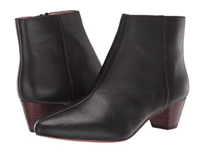 Madewell Francine Boot (True Black Leather) Women