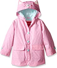 London Fog Girls' Enhanced Radiance Kitty Cat Rain Slicker